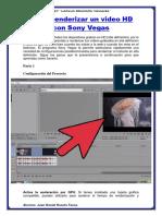 Cómo Renderizar Un Video HD Con Sony Vegas