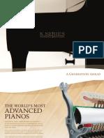 Kawai KSeries Brochure