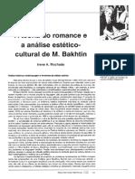 MACHADO, Irene. A teoria do romance e a análise estético-cultural de Bakhtin.pdf