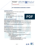 WCC 2012 Shipping Freight Forwarding Guidelines and Tariffs 01