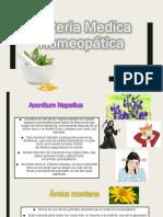 Tema 2.2 Materia Medica Homeopática