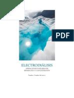 ELECTRODIÁLISIS