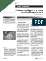 Apuntes sobre el régimen disciplinario en la carrera especial pública penitenciaria.pdf