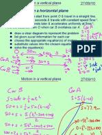 Mechanics 1 Vertical Motion 270910