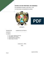 Informe 2 de Físisca Xdxd