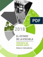 El Estado de la Escuela en la provincia de Buenos Aires 2018