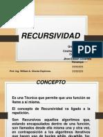 Exposicion Recursividad