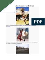 Atrimonio Cultural Inmaterial Del Perú