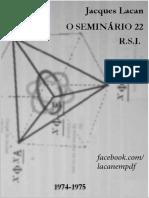Jacques Lacan - O seminário - Livro 22 -RSI.pdf