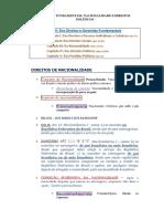 Aula 12 - Nacionalidade e Direitos Politicos - Dr. Bruno Pontes