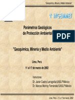 Capitulo v-geoquimica Ambiental y Modelos Geoambientales