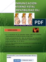 Isoinmunización Materno Fetal