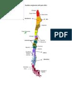 Trabajo Del Mapa de Los Pueblos Originarios