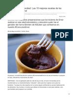 Emol.com-Cocina en Microondas Las 10 Mejores Recetas de Los Comentaristas Emol