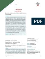 Importancia de La Microbiota Gastrointestinal en Pediatría