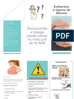 Triprico Signos de Alarma en Embarazo