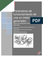 Parámetros de Funcionamiento de Una Un Motor
