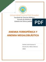 Monografía Anemia Daniela Espinosa