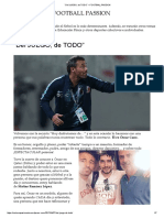 """""""Del Juego, De Todo"""" – Football Passion"""