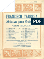 Menuet Tarrega