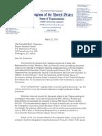 Bob Goodlatte Subpoena to DOJ - March 22 2018
