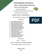 Informe de Salud y Comunidad 2