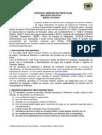 Edital Treze Tilias Processoseletivo