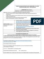 Práctica 1, BD 1 - Instalación de Oracle 12c