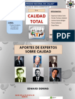 Ppt Calidad Total