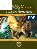 Castles & Crusades Classic Monsters