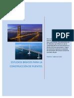 Estudios Básicos de Puentes 2