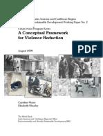 A Conceptual Framework for Violence