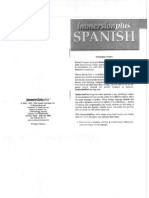 Immersion Plus Spanish (Transcripts)