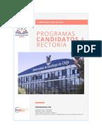 Programas Candidatos a Rectoría
