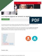 Las Mejores Páginas de 'Torrents' en Español