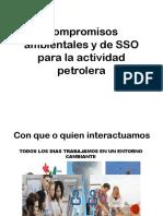 Compromisos Ambientales y de SSO en la actividad petrolera ecuatoriana