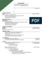 final resume- mb