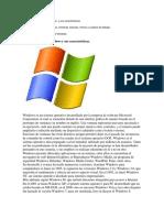 El Sistema Operativo Windows y Sus Características