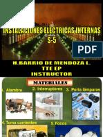 S-5.S-6 Instalaciones Electricas y Sanitarias