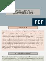 Regimen Laboral en Construcción Civil