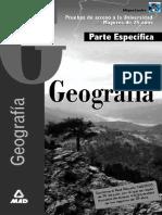 Geografia - Acceso a La Universidad Mayores de 25 Años