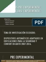 Nacimba-Palacios-Villalva. NRC 3064. Diseño Preexperimental y Cuasiexperimental
