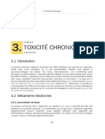Toxicologie Générale - Toxicité Chronique v1.0