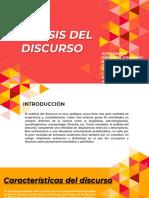 Analisís Del Discurso.