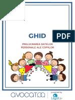 GDPR si datele personale ale copiilor