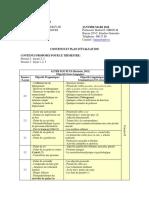 FRANCAIS II Contenus Et Plan d'Evaluation (Janvier - Mars 2018)