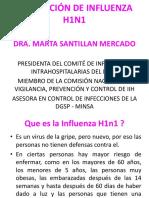 PREVENCIÓN DE INFLUENZA H1N1