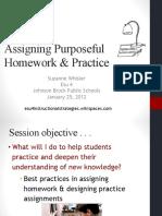 Homework Ppt