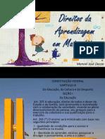 Direitos Da Aprendizagem - Matematica - MJDecon