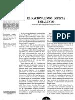 El Nacionalismo Lopizta Paraguayo Doratioto